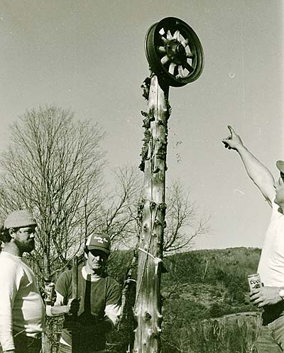 Northeast Slopes Vermont vintage photo-pulley