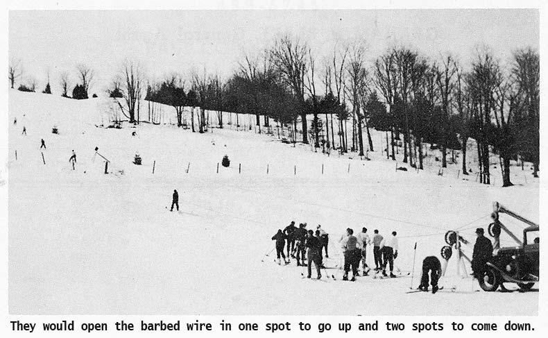 Northeast Slopes Vermont vintage photo-ski day